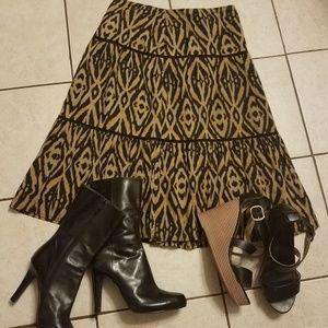 Jones 🖤 New York 🖤 3 Teired 🖤 Skirt